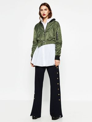 This Is How Zara Girls Wear Their Bomber Jackets