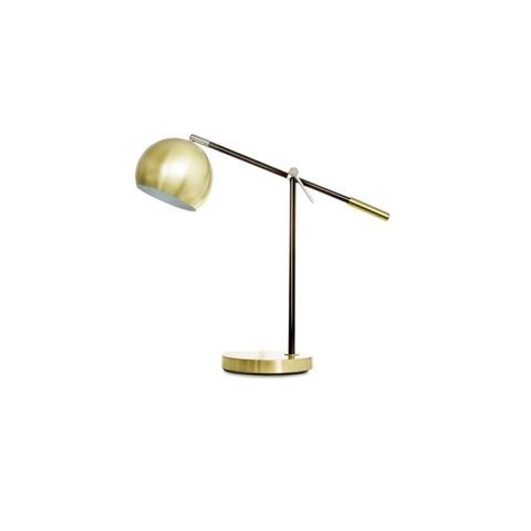 Brass Coloured Cantilever Table Lamp