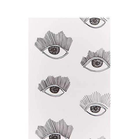 Bright Eyes Removable Wallpaper