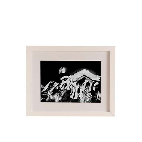 """Kurt Cobain and Nirvana Crowd Surfing"" by Paul Bergen"