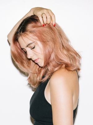 See Our Editor's Epic Rose Gold Hair Transformation
