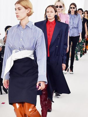 The Highly Unexpected Fabric Spotted at Balenciaga's S/S 17 Show