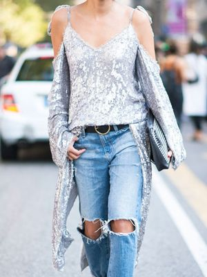 Yes, You Can Wear Sequins During the Day