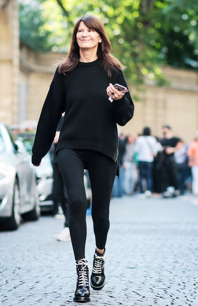 Leggings Are Now Totally Acceptable at Fashion Week