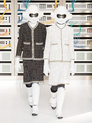 The Chanel Robot Should Definitely Be Your Halloween Costume