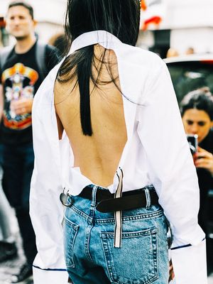 This Jeans Trend Is Unlike Anything You've Seen Before