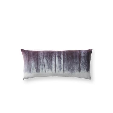 Hand-Dyed Shibori Velvet Pillow Cover