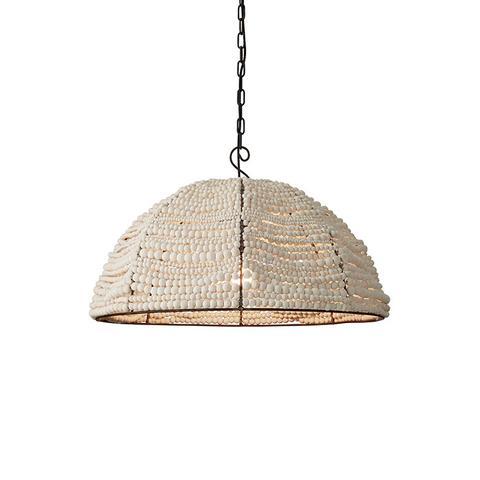 Clay Bead Dome Pendant