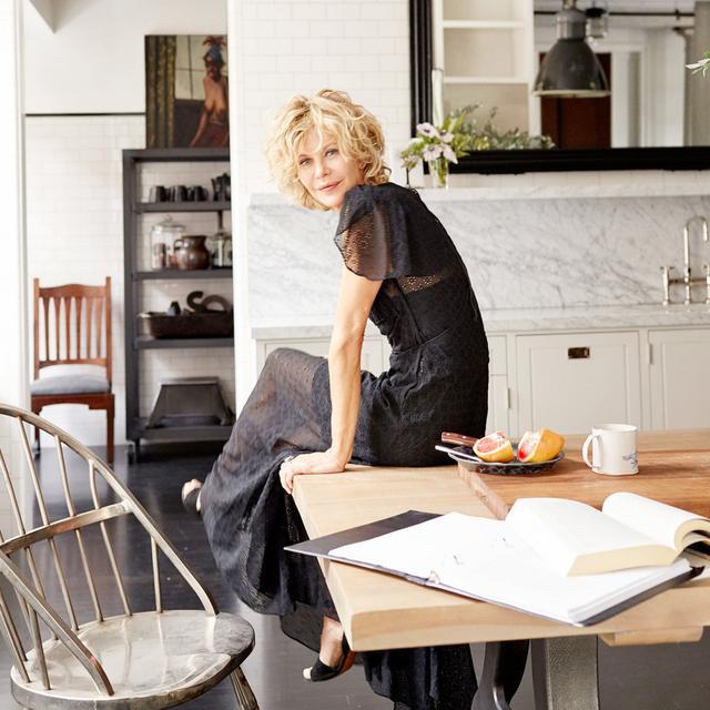 Meg Ryan's SoHo Loft Is the Perfect New York City Respite
