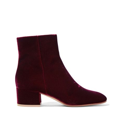 TuesdayShoesday: Shop the Best Velvet Ankle Boots | WhoWhatWear