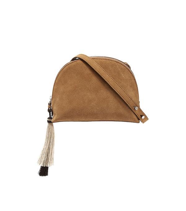 Loeffler Randall Tasseled Suede Shoulder Bag
