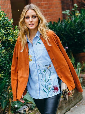 How Olivia Palermo Wore the Same Zara Top Differently in London and Paris