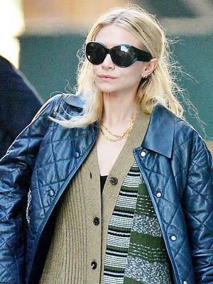 Ashley Olsen Wore a Cardigan as a Dress (but It's Not What You Think)