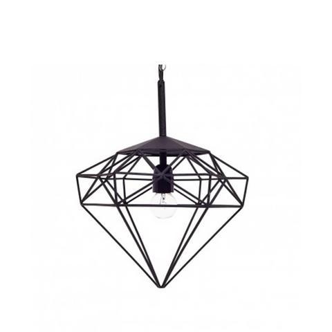Small Black Diamond Pendant