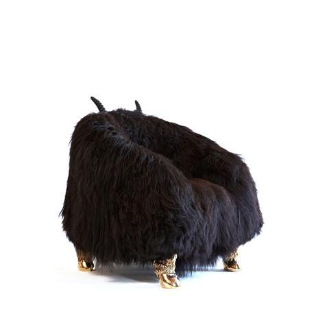 Unique Beast Club Chair