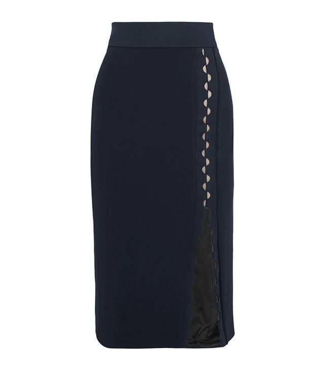 Dion Lee Cutout Tech-Jersey Skirt