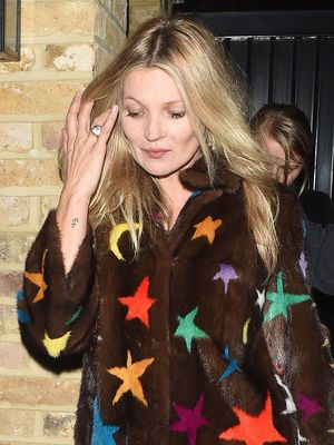 Kate Moss, Your Coat Just Gave Us the Chills