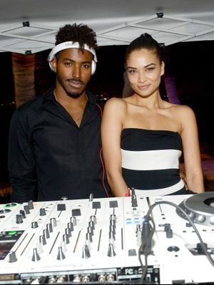 My Plus One: Shanina Shaik and DJ Ruckus