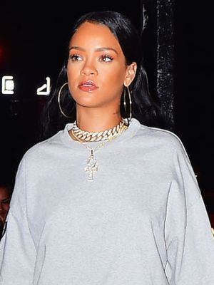 You Have to See Rihanna's Sweatshirt Look From the Waist Down