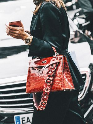 Move Over, Furry Pom-Pom—This Is the New Bag Accessory to Own