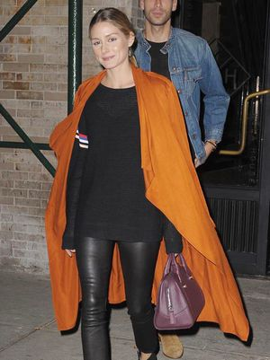 Olivia Palermo's Trench Trick Is So Chic
