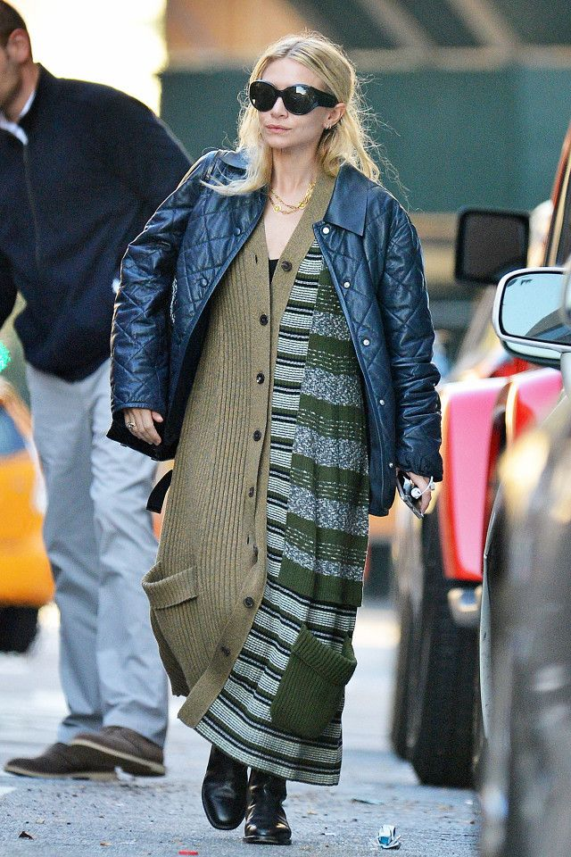 Was Olivia Palermo's Latest Outfit Inspired by Ashley Olsen?
