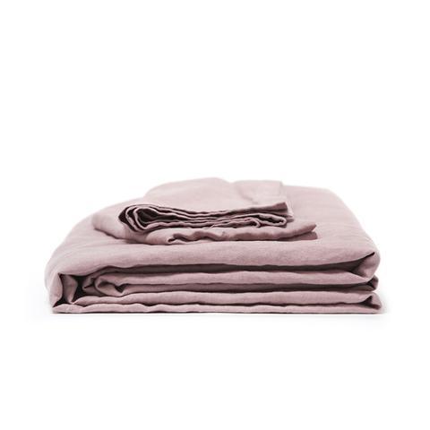 Vintage Washed French Linen Duvet Set