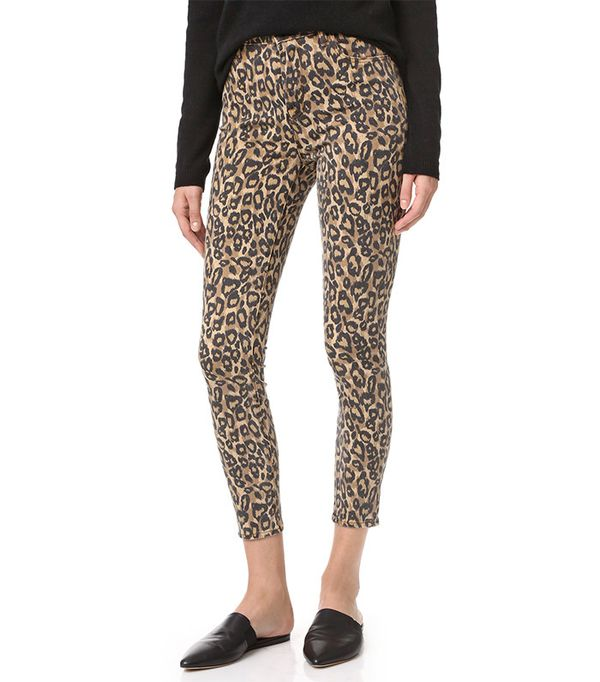 how to wear animal print pumps