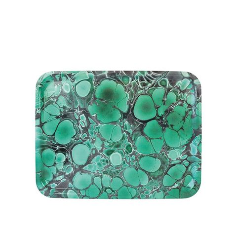Deep Jade Serving Tray