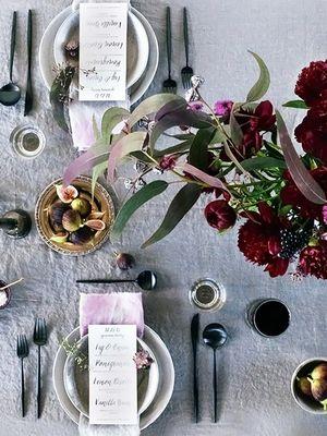 How to Set a Halloween-Themed Table That's Anything But Tacky