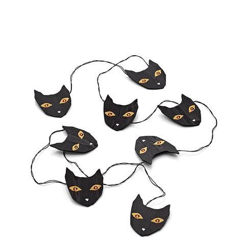 Halloween Cat String Lights
