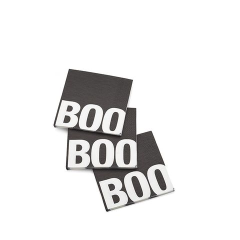 Boo Paper Lunch Napkins, Set of 20