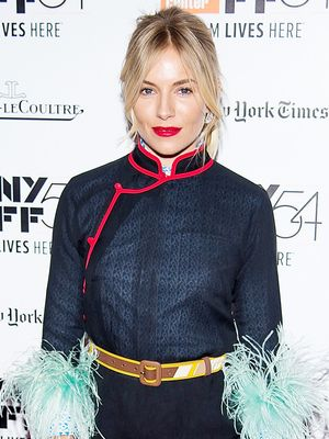 Sienna Miller's Take on Pajama Dressing Is Seriously Amazing