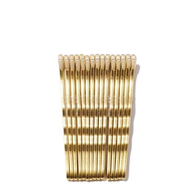 gold bobby pins