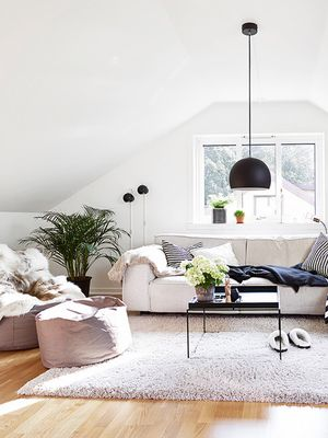 This Stylish Trend Takes Poufs to the Next Level