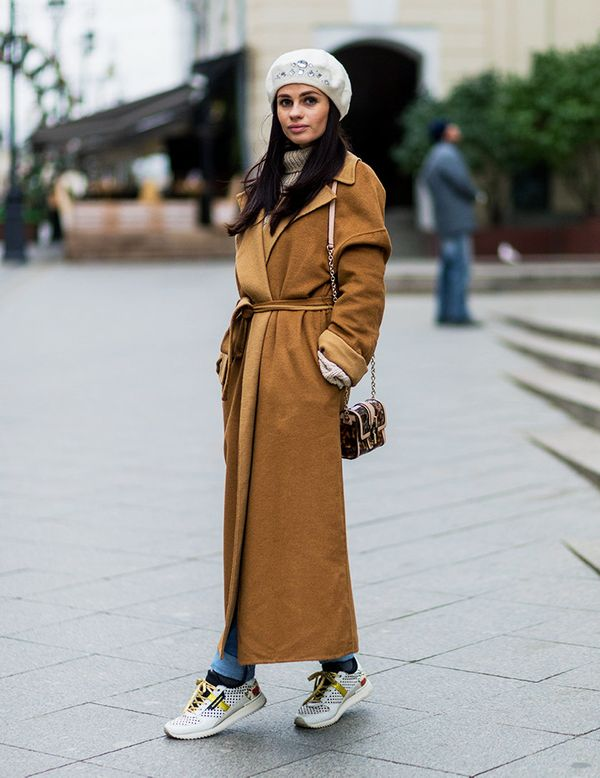 13 Cold Weather Dressing Tricks From Russia Fashion Week Street Style Whowhatwear Uk