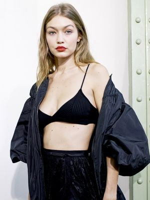 Gigi Hadid Makes a Big Runway Confession
