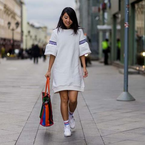 The Very Best Street Style From Mercedes Benz Fashion Week Russia Whowhatwear