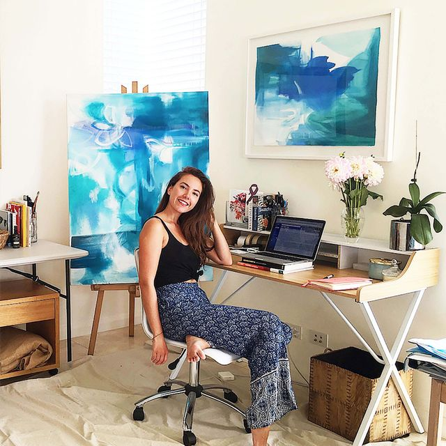 How It's Made: Step Inside the Studio of a Sydney-Based Abstract Artist
