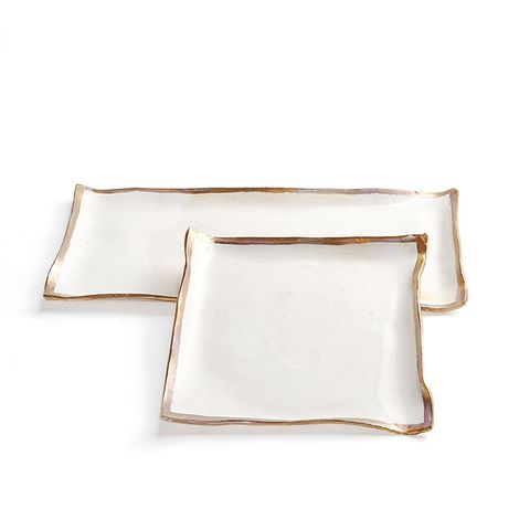 Gold Luster Trays