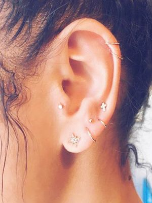 Constellation Piercings Are The Cooler Way To Wear Statement Jewelry