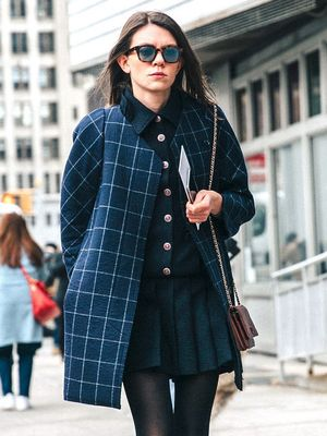 A Downtown-Cool Take on the Schoolgirl Look for Fall
