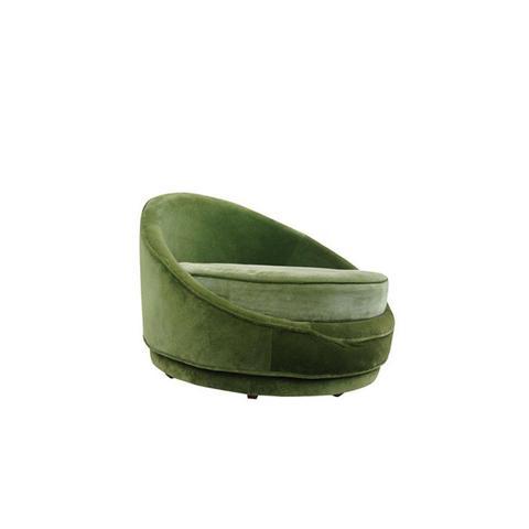 Emerald Green Swivel Loveseat