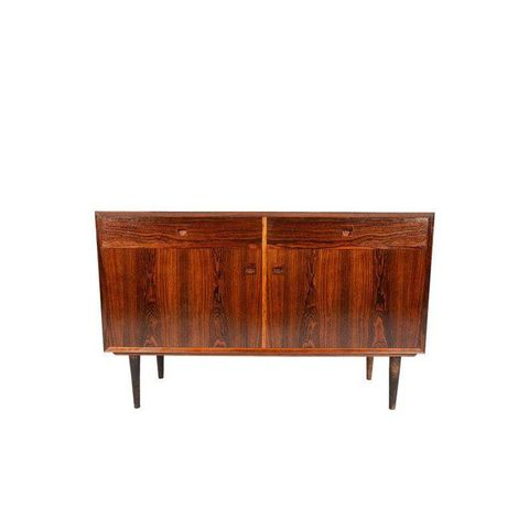Midcentury Danish Modern Rosewood Credenza