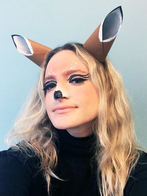 How to Be the Adorable Deer Snapchat Filter IRL This Halloween
