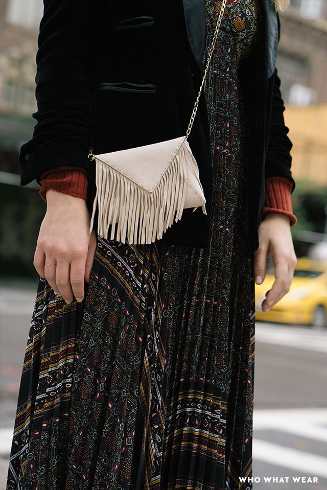 No bohemian is complete without her fringe.