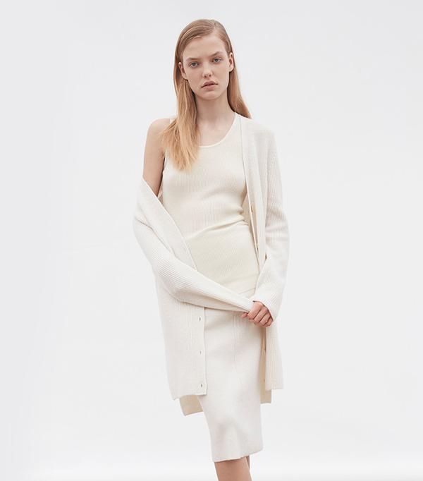 Calvin Klein Cashmere Sweater Coat
