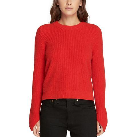 Valentina Cashmere Crop Sweater