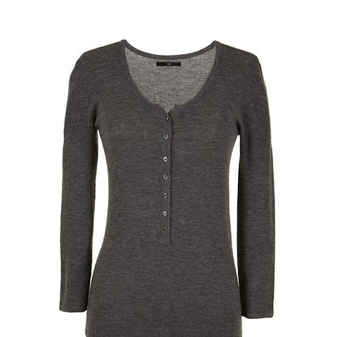 Seamless Cashmere Henley