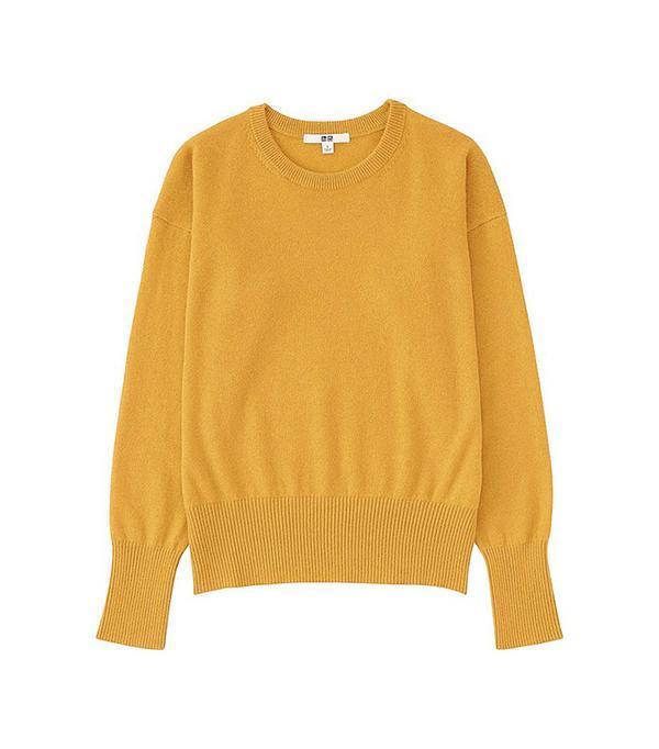 UNIQLO Cashmere Neck Sweater